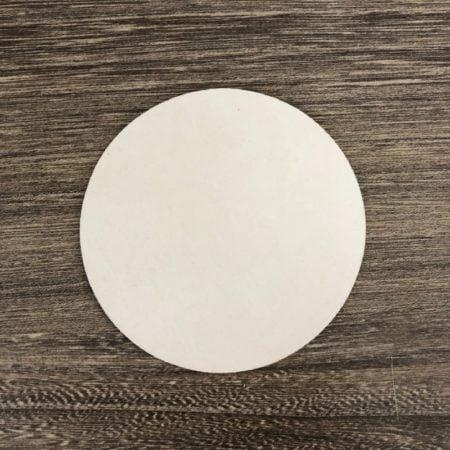 吸水杯墊-圓形厚紙卡1.2mm