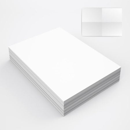 大量海報 (十字摺)