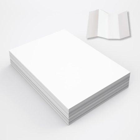 大量海報 (平行二摺)